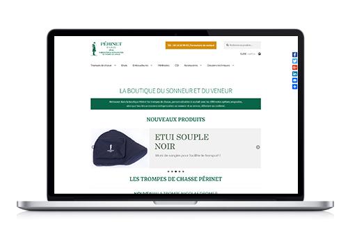 Création site e-commerce Périnet