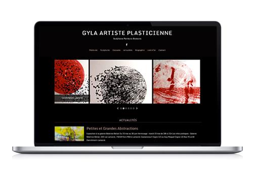 Création site Internet Gyla artiste