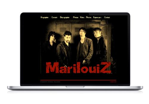 Création site Internet MarilouiZ