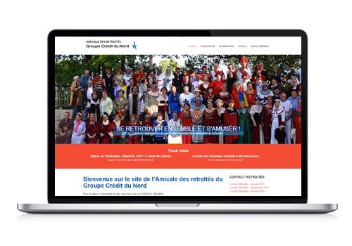 Création site Internet Retraités