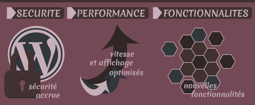 Infographie mise à jour WordPress
